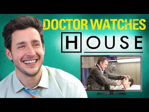 real doctor reacts to house m d medical drama review doctor