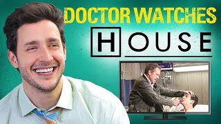 Real Doctor Reacts to HOUSE M.D. | Medical Drama Review | Doctor Mike - Video Youtube