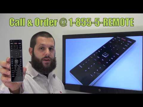 VIZIO XRT510 TV Remote Control
