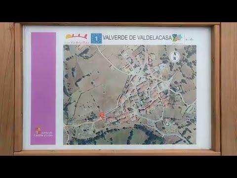 Camino de Santiago Os muestro la aldea VALVERDE DE VALDELACASA - Salamanca