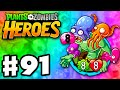 Plants vs. Zombies: Heroes - Gameplay Walkthrough Part 91 - Octo Zombie! (iOS, Android)