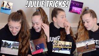 REAGEREN OP JULLIE TRICKS EN FAILS! | JumpTime