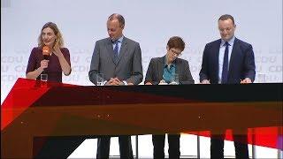 AKK, MERZ ODER SPAHN So lief der erste Kandidaten-Check der CDU-Basis