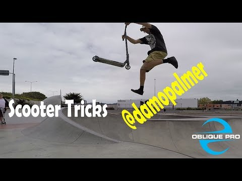 Scooter Tricks by @Damepalmer