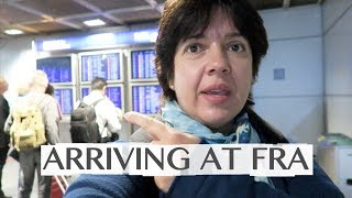 ARRIVING AT FRANKFURT AIRPORT (FRA) - GOING TO LONG DISTANCE TRAIN STATION