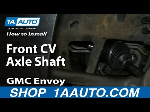 How To Install Replace Front CV Axle Shaft 2002-09 GMC Envoy And XL XUV Mp3