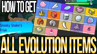 Clamperl  - (Pokémon) - Where to Get All EVOLUTION ITEMS in Pokemon Sun and Moon | Austin John Plays