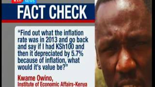 Fact Check : Raila Odinga's claim