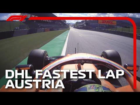 F1 2020 開幕戦オーストリアGP ランド・ノリスが出したファステストラップのオンボード映像