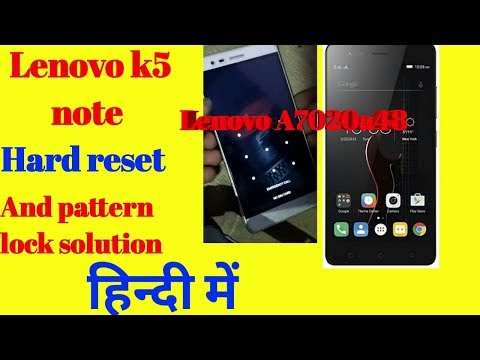 Download Lenovo A7020a48 Vibe K5 Note Frp Remove Pattern Phone Unl