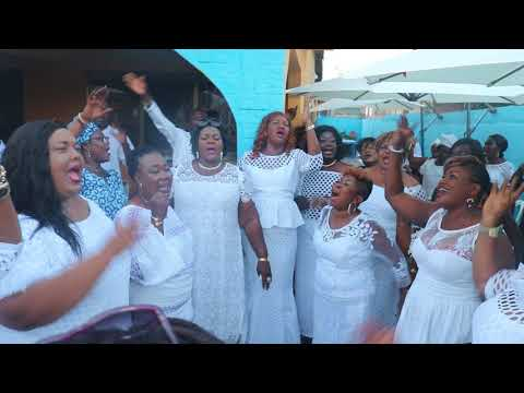 Video: Shatta Wale's mother and Shatta Mothers pray for Shatta Wale