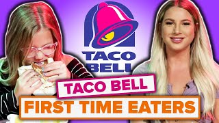 People Try Taco Bell For The First Time thumbnail