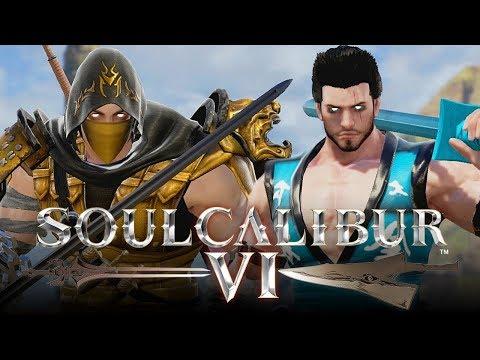 SOUL CALIBUR 6: Scorpion VS Sub-Zero Gameplay! (Custom