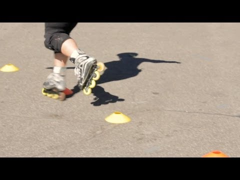 How to Freestyle on Rollerblades | Roller-Skate