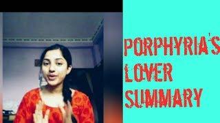 porphyria lover summary