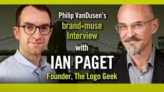 brand•muse Interview with Ian Paget of Logo Geek with host Philip VanDusen