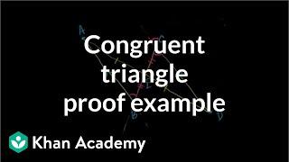 Grade 8 Math | Geometry proof problem: midpoint| Khan Academy