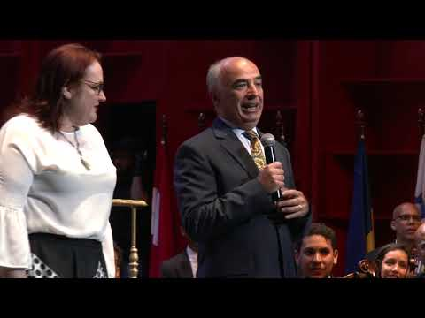Discurso Embajador Grippa - Concierto Sinfónico Unidos en la Diversidad