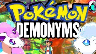 Pokemon Demonyms are the MOST Important Thing Right Now | Gnoggin