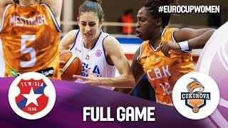 Wisla CANPACK Krakow v Cukurova Basketbol – Full Game – EuroCup Women 2018-19