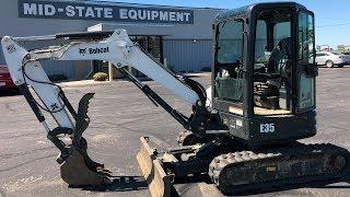 How To Operate A E35 Mini Excavator