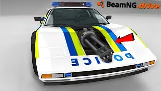 EXTREME POLICE CAR - BeamNG.drive