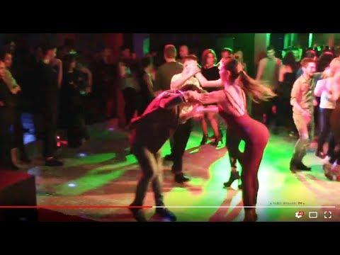 Francesca Margari y Gabriel - bailando Nunca muere el Guaguanco - La Maxima 79