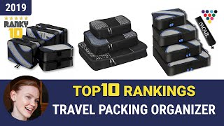 Best Travel Packing Organizer Top 10 Rankings, Review 2019 & Buying Guide