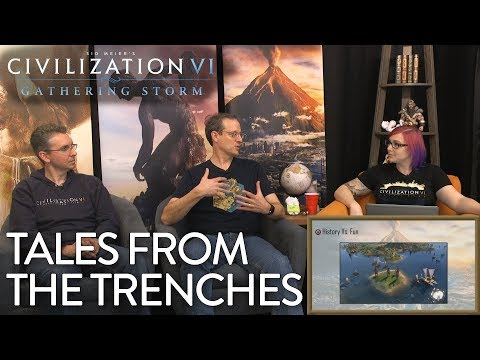 Civilization VI: Gathering Storm - Tales from the Trenches (Pre-Launch Livestream VOD)