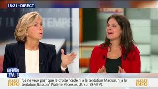 """Valérie Pécresse invitée de """"Et en même temps"""" sur BFM TV"""