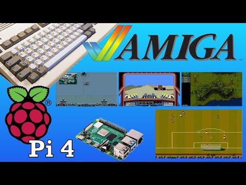 How To Emulate Amiga on Raspberry Pi - Amibian Tutorial - Dan Wood