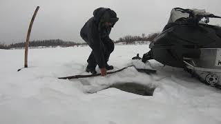 Рыбалка в непогоду.ОКУНЬ!День второй..