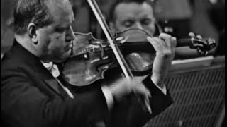David Oistrakh - Brahms Violin Concerto in D Major, Op. 77