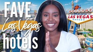 Where to Stay in Las Vegas | TOP 5 HOTELS ON THE STRIP.. in my opinion...