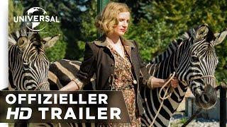Die Frau des Zoodirektors Film Trailer
