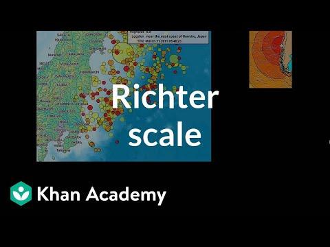 Richter scale (video)   Khan Academy