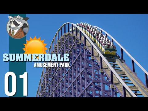 ☀Welcome to Summerdale | Summerdale Amusement Park | Planet Coaster Ep.1☀