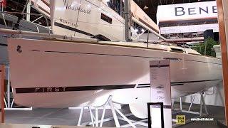 2017 Beneteau First 25 Sailing Yacht - Deck And Interior Walkaround - 2016 Salon Nautique Paris