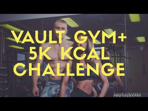 [VLOG]Focení ve Vault Gymu + 5000 kcal challenge s Valinale Stone