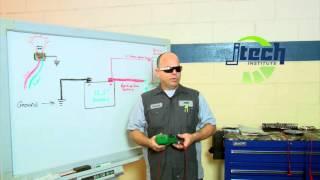 Voltage Drop Test on a Starter Unit