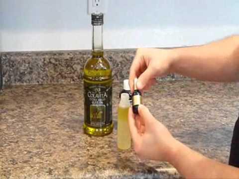 Como hacer y usar nuestro propio aceite pre afeitado.