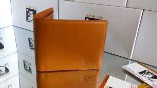 Bóp da nam cao cấp B&C Leather C3-Yellow vàng bò da xịn giá rẻ