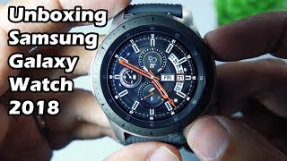 UNBOXING: New Samsung Galaxy Watch 2018 (Bahasa Indonesia)
