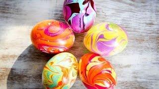 4 самых простых способа как покрасить яйца на Пасху