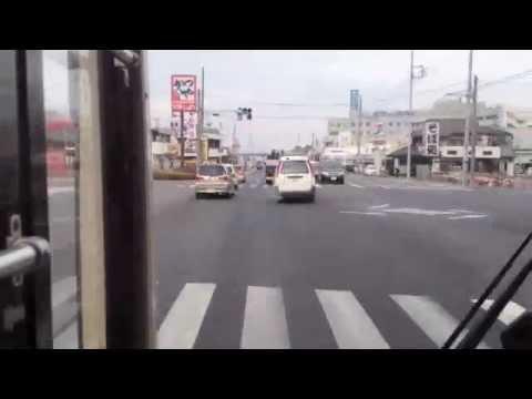 【西武バス】バス乗りタイムラプス 豊岡町〜狭山市駅西口編