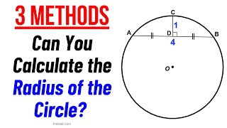 Learn 3 Different Methods to Find the Radius of a Circle   In-Depth Explanation