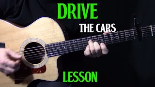 """how to play """"Drive"""" by The Cars on guitar  