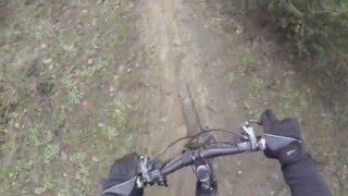 preview picture of video 'MTB a Roma - Giro del Cinghiale (Malagrotta, Maccarese, Castel di Guido) 12/01/2014'