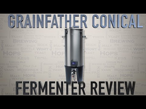 GRAINFATHER CONICAL FERMENTATION SYSTEM FULL REVIEW 4K HD