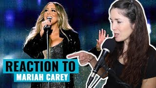 Vocal Coach Reacts To Mariah Carey Legendary Vocal Moments (Live)